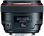 Objectif Canon EF 50mm f1.2L USM