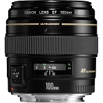 Objectif Canon EF 100mm f2 USM