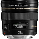 Objectif Canon EF 20mm f2.8 USM