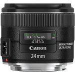 Objectif Canon EF 24mm f2.8 IS USM