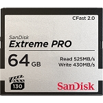SanDisk Extreme Pro CFast 2.0 Memory Card - 64Go