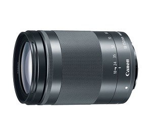 Objectif Canon EF-M 18-150mm f/3.5-6.3 IS STM - Graphite