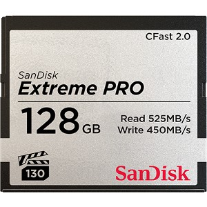 SanDisk Extreme Pro CFast 2.0 Memory Card - 128Go